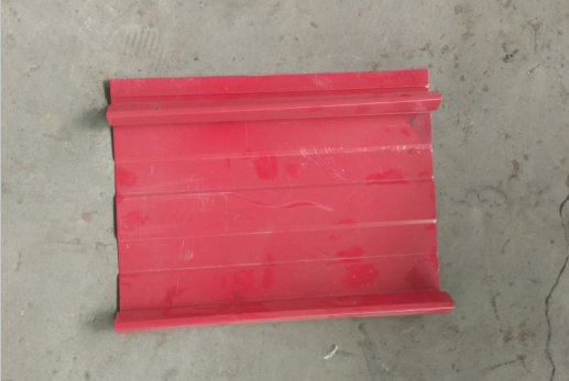 self-locking type roof tile for Ghana