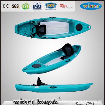Sola sentarse en la parte superior de fondo Kayak transparente (VUE-2)
