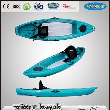 Single Sit on Top Bottom Transparent Kayak (VUE-2)