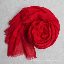 100% полиэстер вуаль серой ткани для шарф