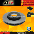 Japon rotor de disque de frein de voiture, pièces de pièces détachées usine de tambours de frein à disque