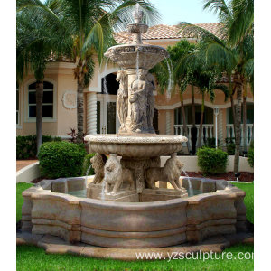 Marble Water Fountain For Sale