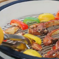 Non-stick BBQ Portable Rack Barbecue Grill Mesh Net