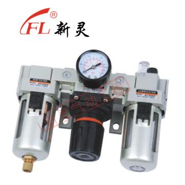 Filterregler-Schmierstoffgeber-Luftkombination AC3000-03
