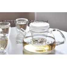 Hot Selling for European Borosilicate Flower Tea Pot, Coffee Pot