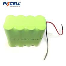 Paquete de batería industrial NI-MH 9.6V 2000mAh