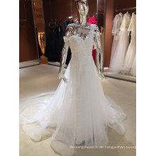 Neue Ankunft 2017 Hochzeits-Spalte-Hochzeits-Kleider