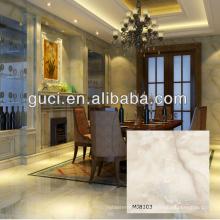 tuile de marbre de grande taille pour la conception de sol en marbre