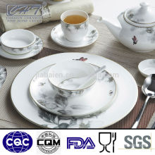 A018 Hot selling attractive fine bone china porcelain dinner set