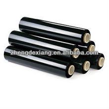High Quality black pallet hand wrap stretch film