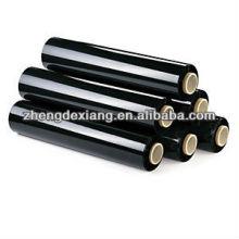 High Quality black pallet hand wrap stretch film