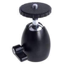 Camera Accessories Universal Ball head 360 Degree Swivel Rotating Aluminium Mini Tripod Mount Adapter Head Pivot Arm