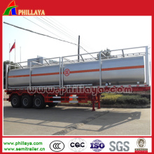 3 Axles Chemical Liquid Tank Trailer