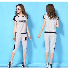 Venta al por mayor de las mujeres del verano ocasionales Sport Wear / Track Traje