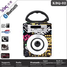 Hot sale High sensitive Radio speaker Superbass Jambox custom music box song