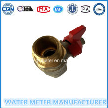 Brass Stop Control Ball Valves for Water Meters (Dn15-40mm)