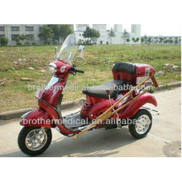 gas powered 49cc full function Handicapped tricycle
