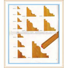moldura de la esquina de la teca / marcos decorativos de la pared de la teca / esquinas decorativas de madera de la teca