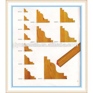 Угловой профиль из тикового дерева / декоративные рамки из тикового дерева / декоративные уголки из тикового дерева