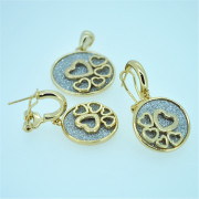 New Products Earrings and Pendant Jewelry Fashion Jewellery Set