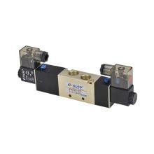 "4V300 Serie KLQD Marke 3/8 ""Inch 5/3 Magnetventil Pneumatisches Luftventil"