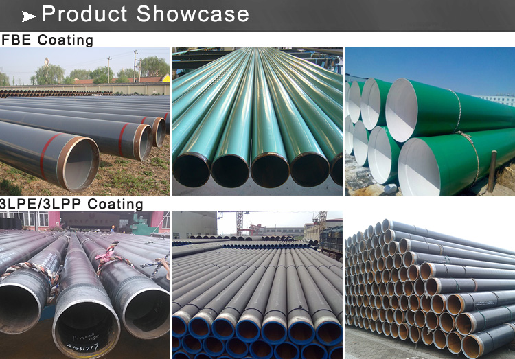 coating pipe showcase