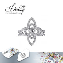 Destiny Jewellery Crystal From Swarovski Ring Luxury Ring