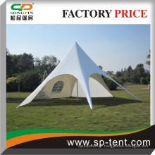 Tente d'étoiles promotionnelle extérieure avec poteau en aluminium réglable du fabricant de tentes