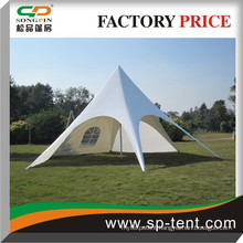 Outdoor promotional star tent with adjustable aluminum pole from tent manufacturer