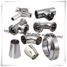 3A / DIN / SMS Acessórios de tubulação sanitária de aço inoxidável
