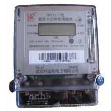 Radarking monofásico de 5 + 1 bit display LCD pré-pago medidor elétrico