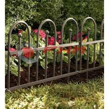 Wrought Iron Decorative Metal Lawn Edging Fence