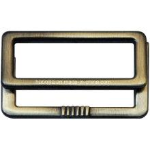 Fivela quadrada de liga de zinco para vestuário -19752-2