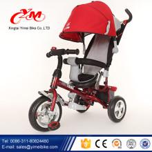 Bicicleta de tres ruedas de Alibaba para los niños / triciclo del bebé de la venta caliente del nuevo diseño / trike del niño de Multifunction