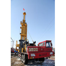 Water Well / Shallow Gas Drilling Rigs , Diamond Drilling Equipment Cmd100