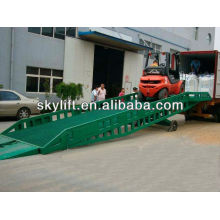 hydraulic container loading dock ramp lift