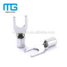 Low price non-insulated not easy to aging electrical spade connectors