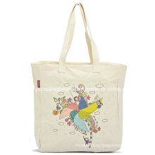 Рекламный хлопок Покупки Tote Холст сумка