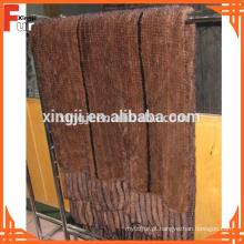 Cobertor De Pele, Pele De Vison De Luxo, Para Casa Decorativa