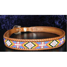 2013 Beaded Men's Women's Indian Leather Western Style