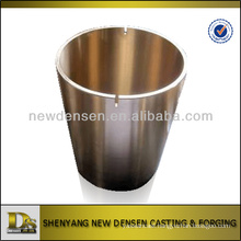 Customized bronze bushing centrifugal casting with machining