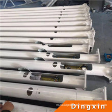 5m, 6m, 8m, 10m Q235 Steel Street Light Poles
