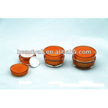 15G 30G 50G Mushroom Shape Cosmetic Acrylic Cream Jar