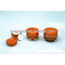 15ml 30ml 50ml Frasco cosmético de luxo acrílico