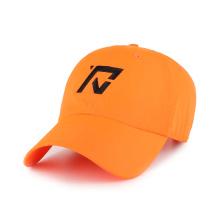 broderie plate et casquette de baseball à fermeture élastique