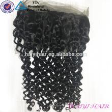 Usine100 cheveux brésiliens vierges 360 dentelle frontale