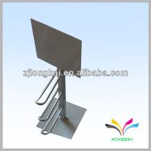 Smart Design Zähler 3pegs weiß pulverbeschichtet Draht Zähler Einzelhandel Display