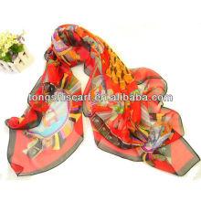 мода весна морщинка шарф