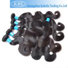Großhandelshaarteil, preiswertes Nachnahmehaar, raues burmanisches reines Haar spinnt Produkte für schwarze Frauen