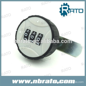 RD-116 3 digital round plastic combination cabinet lock